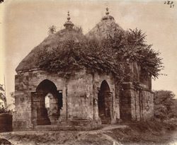 Temple at the west end of the village of Para, Manbhum District.
